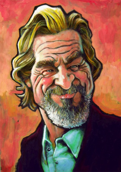 Jeff Bridges Caracature